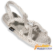 Signature Barbados Platinum Rope Sandals