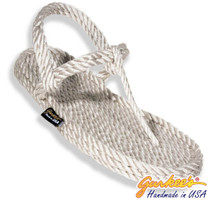Signature Trinidad Sterling Silver Rope Sandals