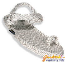 Signature Kona Platinum Rope Sandals