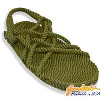 Classic Neptune Olive Rope Sandals