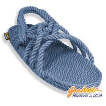 Classic Neptune Denim Rope Sandals