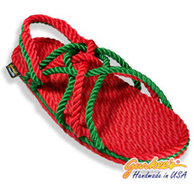 Signature Neptune Christmas Rope Sandals