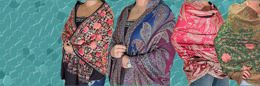 Cashmere Shawls and Wraps