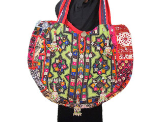 Ethnic Banjara Designer Bag Fashion Shoulder Patchwork Hobo Ladies Handbag India