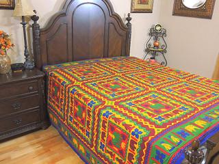 Bohemian Rajasthan Print Bedding Duvet Quilt Cover Reversible Camel Elephant