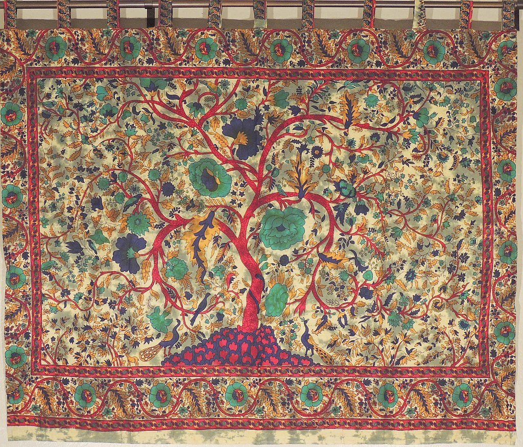 Large Wall Decor   Fabric Print Tree Of Life Cotton Tapestry. Part 98