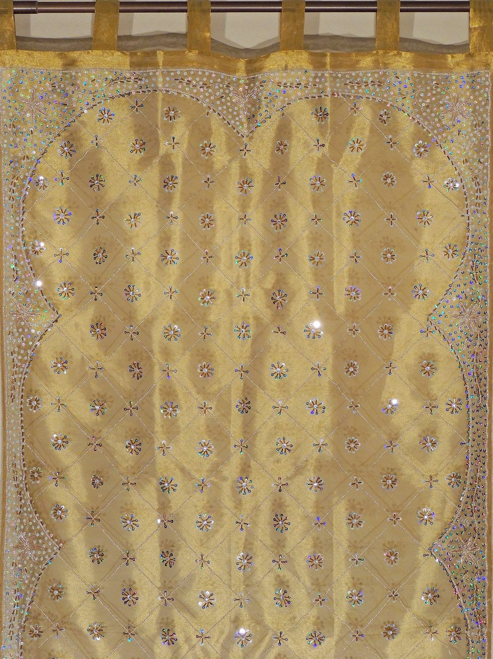 gold curtains living room. gold curtains - sheer beaded zardozi window treatments for living room 92\