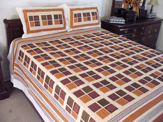 3P Patola Block Print Cotton Decorator Bedding Bedsheet