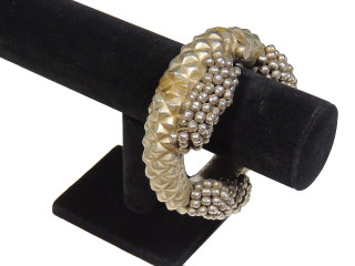 Beautiful Authentic Belly Dance Bracelet Jewelry - Kuchi Handmade Bangle ~ One Size