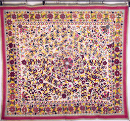 Vintage Rustic Decor Tapestry Artisan Made Huge Indian Wall Hanging Decoration