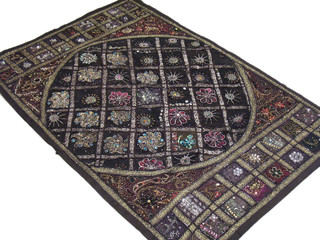 Large Decorative Antique Tapestry Wall Hanging Decor Handmade Gift from India