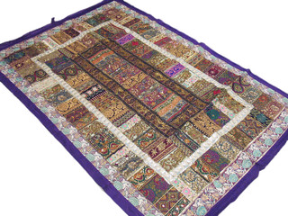 Handmade Patchwork Home Decoration Classic Large India Tapestry Wall Hanging Art