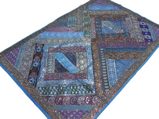 Bohemian Home Decor Tapestry Patchwork India Wall Hanging Kashmir Decoration