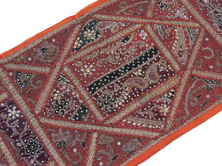 Kundan Wall Decorative Tapestry Brown Hanging Distinctive Home Decoration Accent
