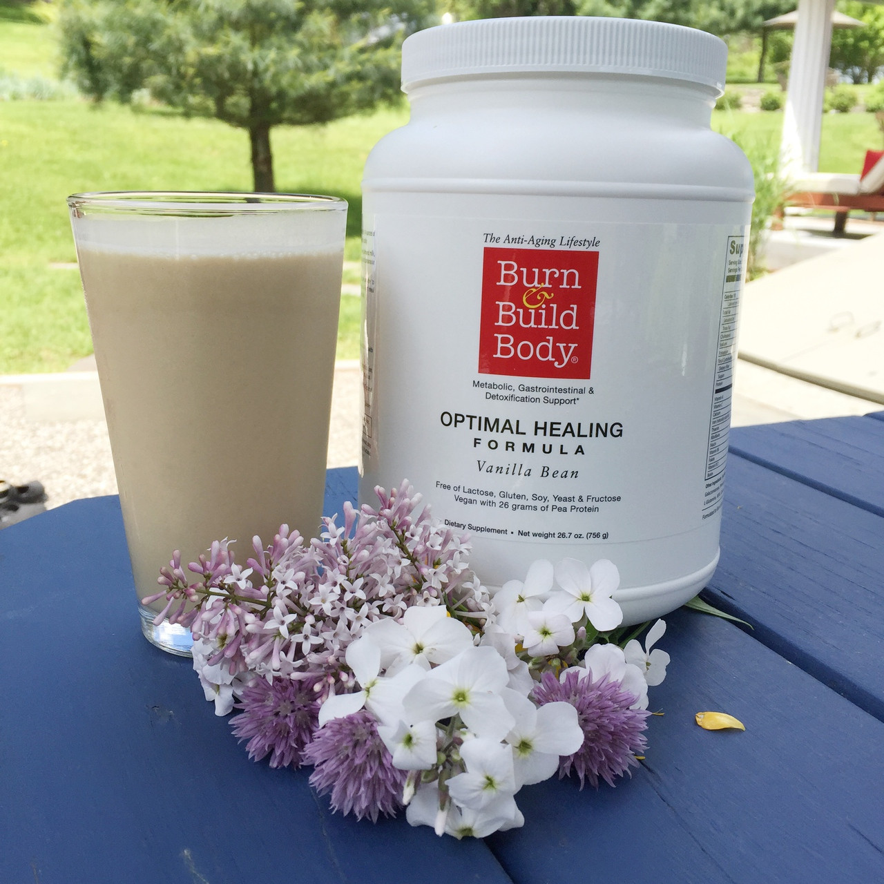 Optimal Healing Formula - with micronutrients for detoxification this is a superior meal or snack replacement. Our vanilla flavored shake will support lean muscle, your metabolic system and remind you of that creamy vanilla shake you loved as a kid.