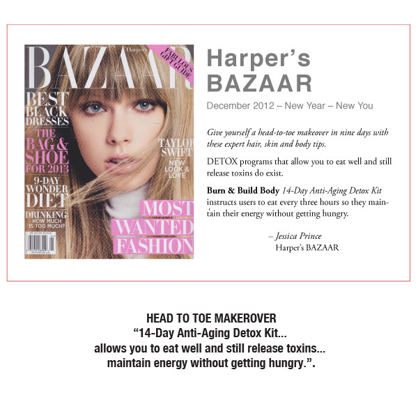 14-Day Anti-Aging Detox Kit Recommended by Harper's BAZAAR