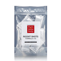 10 pack of individual serving, shiny silver packs of Rockit Fuel