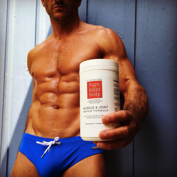 Sandor De Gracia with Muscle & Joint Repair Formula