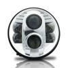 7 Inch Chrome Projector LED Headlights Set