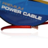 100ft 8AWG Power Cable Wire 8 Gauge Clear Red