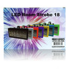LED Strobe Light 18W RGB DJ Party Compact w/Sound Function