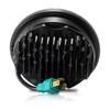 5.75 (5 3/4) In LED Black Projector Headlight Round DOT V2 Set