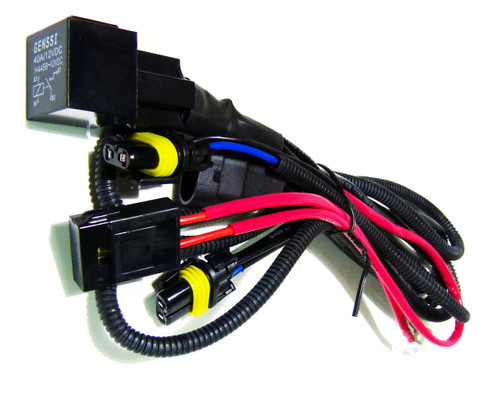 HID Xenon Wire Relay Harness 9006 9005 H10 9145 9055 9012