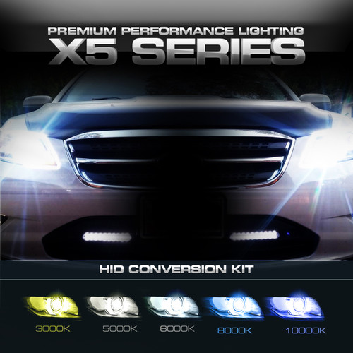 HID Kit Conversion X5 Slim Performance Xenon 35W