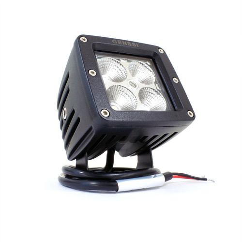 20W Bumper Bar Duely Flood POD LED Light Black