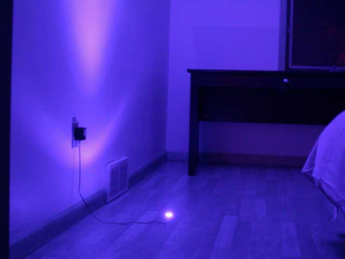 Blue LED Aluminum Module Spot Rock Light (4 Pack)