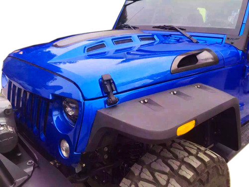Avenger Style ABS Vents Hood for Jeep Wrangler JK 2007-2017