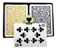 Copag 1546 Black & Gold Regular Index Poker