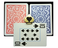 Copag 1546  Red & Blue -  Super Index - Poker
