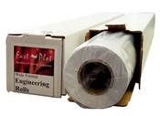 24 lb. Premium Coated Bond Plotter Paper 30 x 300 2 Core - 2 Rolls