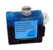 Ink tank for Canon BCI-1421 W8400, W8200, color:  Cyan