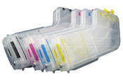 Set of Special L-s Refillable ink tanks for HP OfficeJet Pro K550