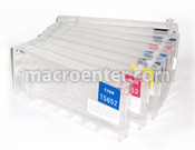 Set of 8 Refillable Ink tanks for Epson 4800 (T5651-9)