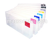 Set of 8 Refillable Ink tanks  for Epson 7880 / 9880 (T6031-9)