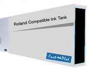 Ink tank replacement for Roland Solvent Printers - Black 220ml (SOLC-ROL-220-BK)