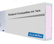 Ink tank replacement for Roland Solvent Printers - Light Magenta 220ml (SOLC-ROL-220-LM)