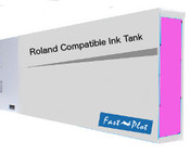 Ink tank replacement for Roland Solvent Printers - Magenta 440ml (SOLC-ROL-440-M)