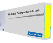 Ink tank replacement for Roland Solvent Printers - Yellow 440ml (SOLC-ROL-440-Y)