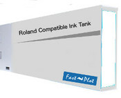 Ink cartridge for Roland Solvent Printers - Clean Solution 220ml (SOLC-ROL-220-CL)