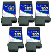 Set of 5 Ink tank 107 for Canon 680, 685, 780 , 785 (CC-PFI6878-S5)