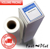 33.5 x 100 Block Out Polypropylene Banner - 10 rolls box