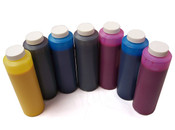 Set of 7 Refill Inks for Epson 7600 9600 w Matte Black 454ml