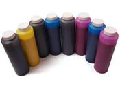 Set of 8 Refill Ink Bottles 454ml for Epson 7880 / 9880 Matte Black