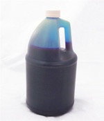 Refill Ink Bottle for HP DesignJet 800 1 Gallon 3.64 Liters Cyan Dye