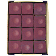 Silver Cup Chalk, Plum, 12-Piece Box