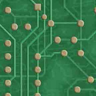 ArtScape 7' Green Circuit Board Pool Table Cloth